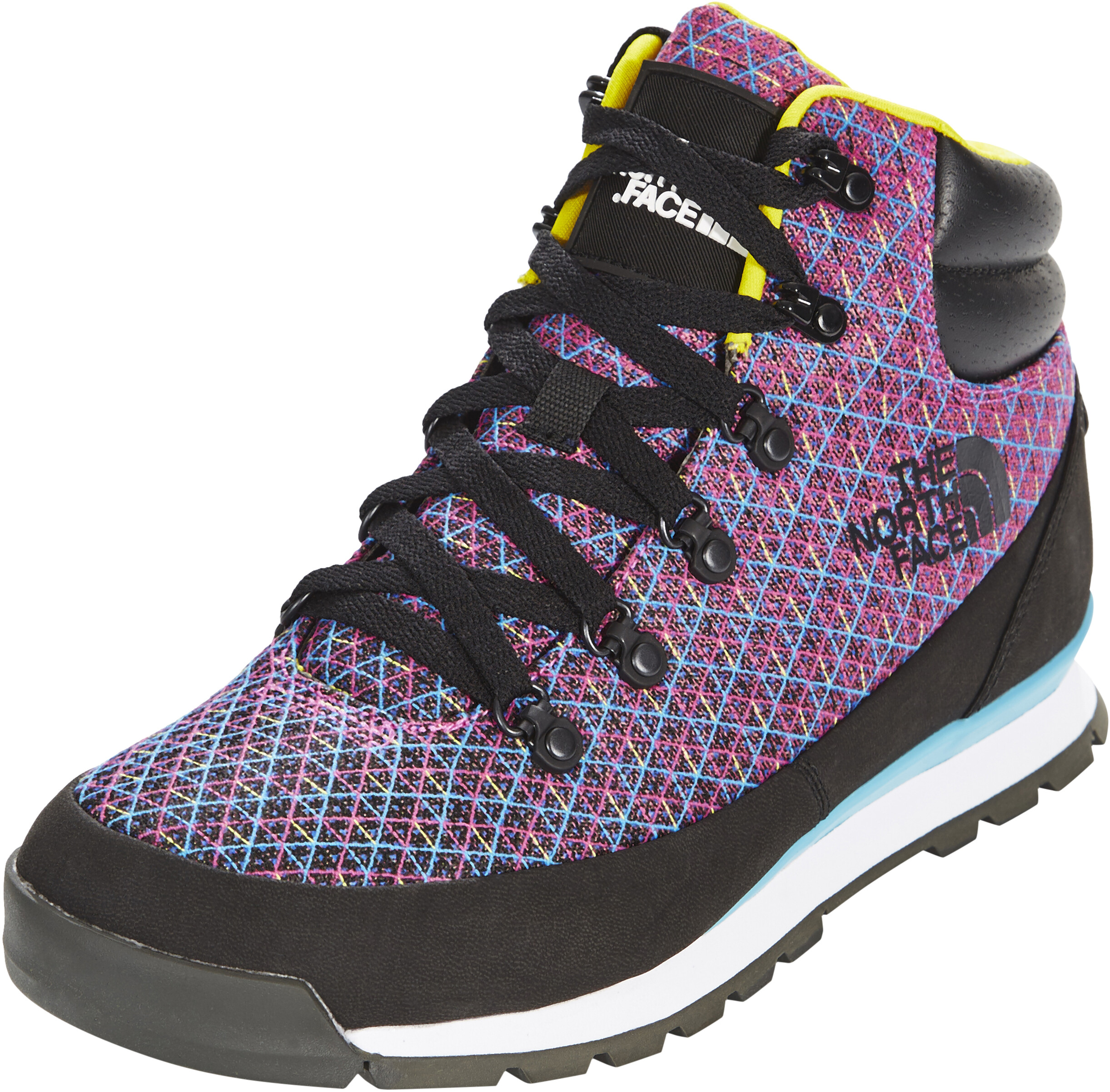 080876954 The North Face Back-To-Berkeley Redux CMYK Shoes Men tnf black/cyanblue